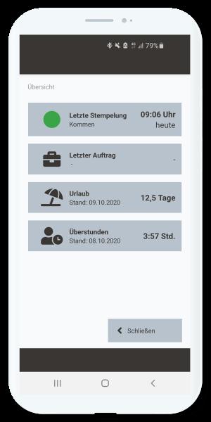 Zeiterfassung App Stempeln